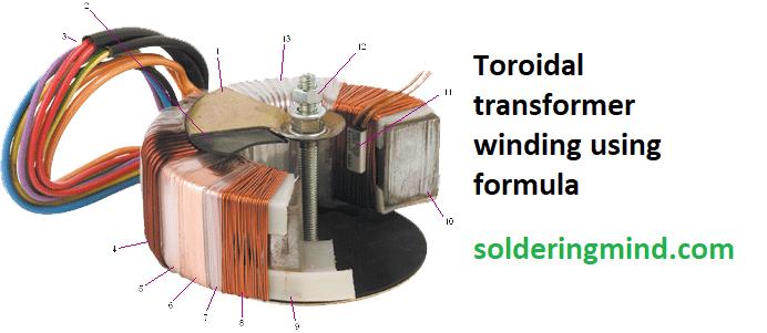 toroidal transformer winding toroidal transformer formula transformer wire toroidal transformer wiring diagram #14