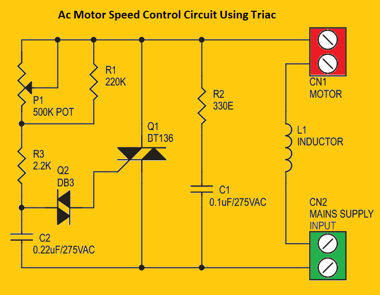 [EQHS_1162]  Ac Motor Speed Control Circuit - Hobby circuits Soldering Mind | Ac Control Schematic |  | Soldering Mind