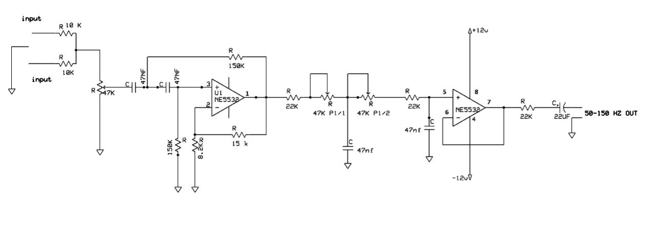Simple 12v low p filter NE5532 - Soldering Mind on