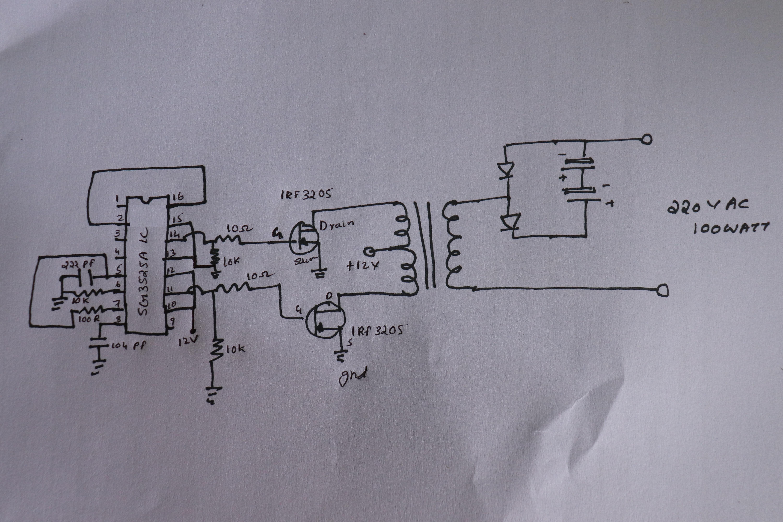 Home Power Inverter Wiring Diagram from solderingmind.com
